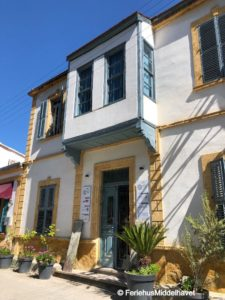 TasEv guesthouse i Arabahmet Nicosia Walled city del 1